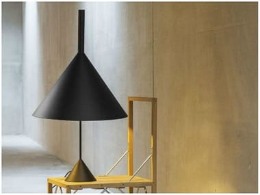 Direct light adjustable metal table lamp FUNNEL | Table lamp