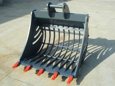 Accessories for construction site machinery Skeleton Bucket