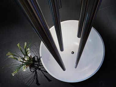 Freestanding round bathtub CIRCLE | Bathtub