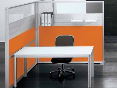 Individual wooden office workstation ZEFIRO SYS   Office workstation