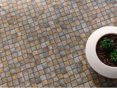 Outdoor floor tiles with stone effect EDICER PEDRALVA