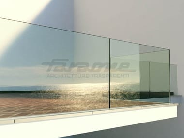 Glass balustrade NINFA