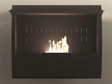 Bioethanol wall-mounted fireplace ULISSE