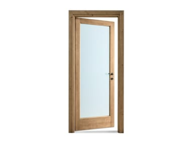 Hinged tempered glass door Tempered glass door