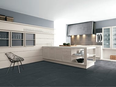 Solid wood fitted kitchen noa composition 1 by cesar for Jumbo arredamenti