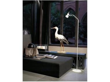 Luminária de pé ajustável de vidro VEGA PT