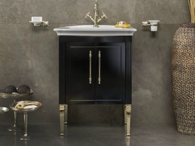 Single vanity unit with doors DECO