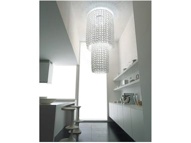 Crystal ceiling lamp GIOGALI PL CA2