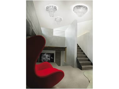 Crystal ceiling lamp GIOGALI PL