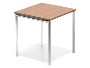 Quadratischer Tisch aus Holz LACROSSE II | Tisch aus Holz