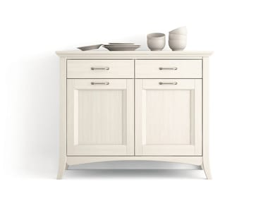 Wooden sideboard with doors with drawers ARCANDA | Sideboard