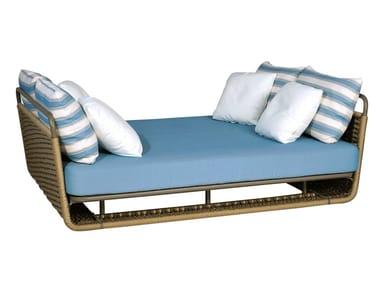 Upholstered Garden daybed PORTOFINO | Garden daybed