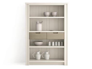 Wooden highboard with drawers MAESTRALE | Highboard with drawers