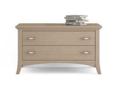 Wooden TV cabinet ARCANDA | Wooden TV cabinet