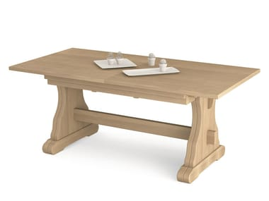 Tavoli In Legno Massello Rustici : Tavoli allungabili in legno massello stile rustico archiproducts