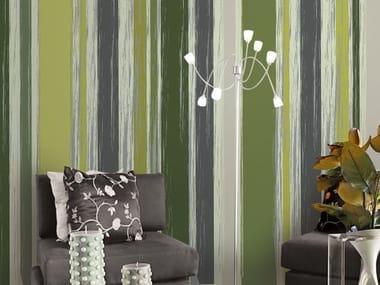 Striped vinyl wallpaper TRUNKS