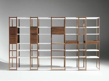 Modular wooden bookcase '93-'08