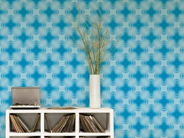 Optical vinyl wallpaper REALM