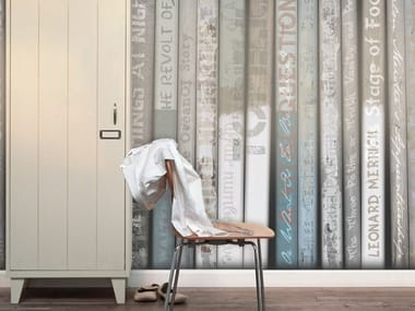 Wood effect vinyl wallpaper MUST HAVE