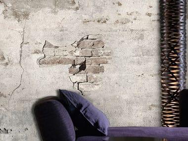 Wall effect vinyl wallpaper BRICK BY BRICK