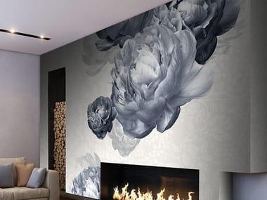 Vinyl wallpaper with floral pattern BOLSHOI