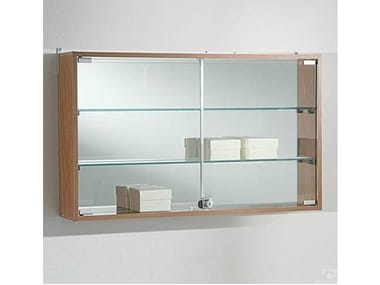 Wall-mounted retail display case VE80/50BA | Retail display case