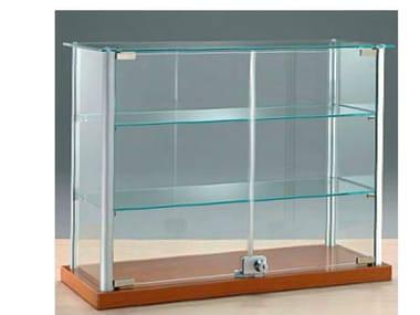 Floor-standing retail display case VE6/5   Retail display case