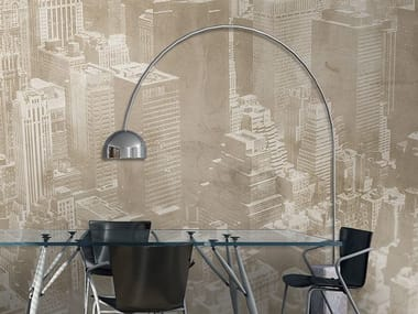 Panoramic vinyl wallpaper GOLDEN AGE