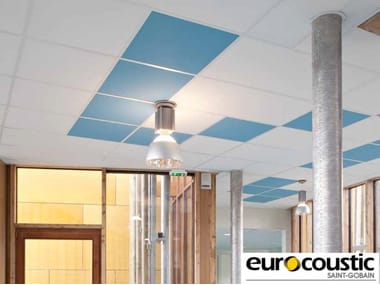 Acoustic rock wool ceiling panels Tonga® A