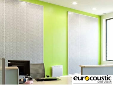 Rock wool Decorative acoustic panel ACOUSTIROC®