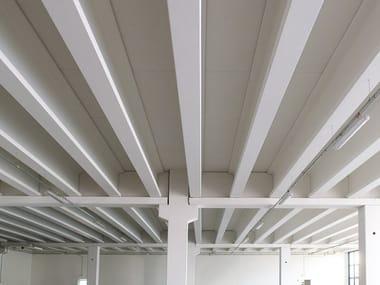 Precast reinforced concrete roof Flat floorings