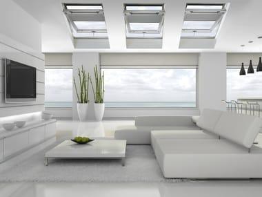 Finestra da tetto a bilico in legno lamellare STYLE PLUS