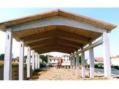 Precast reinforced concrete roof BOOMERANG