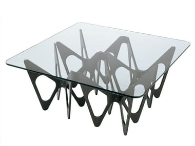 Crystal coffee table BUTTERFLY