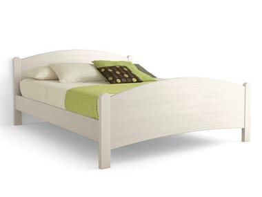 Wooden double bed LUNA | Double bed
