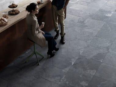 Slate wall tiles / flooring GRAFITE ORIGAMI