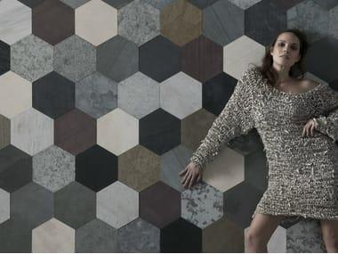 Slate wall tiles / flooring PALETTE ORIGAMI ATELIER