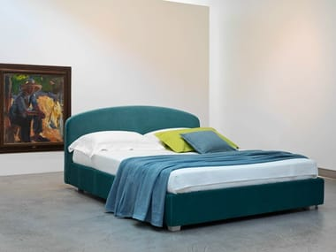 Double bed with removable cover LINOSA