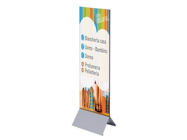 Freestanding double-sided advertising totem TOTEM PUBBLICITARIO | Double-sided advertising totem