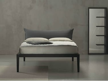 Double bed with upholstered headboard MOHELI ALTO