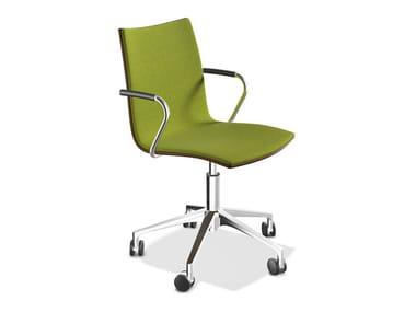 Gepolsterter Stuhl mit Armlehnen ONYX IV | Stuhl mit Armlehnen
