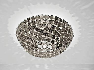 Halogen metal ceiling lamp ORTEN'ZIA | Ceiling lamp