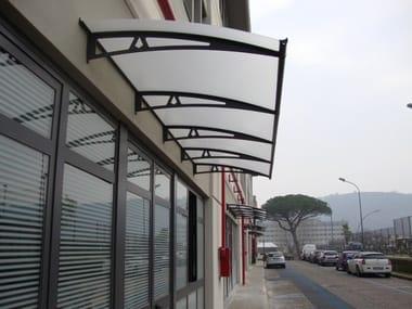 Modular acrylic glass door canopy NEWSTYLE NS-01
