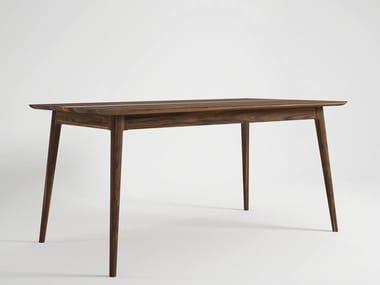Tavolo da salotto rettangolare in legno VINTAGE | Tavolo da pranzo
