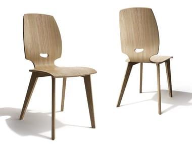 Ergonomic plywood chair FINN | Chair