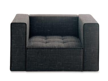 Upholstered armchair KILT | Armchair