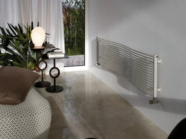 Hot-water horizontal steel decorative radiator JOBA   Horizontal decorative radiator