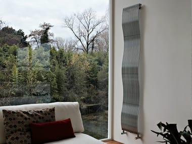 Hot-water vertical steel decorative radiator JOBA   Vertical decorative radiator