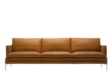 Leather sofa WILLIAM | Sofa