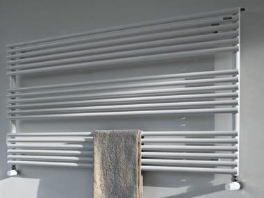 Scaldasalviette orizzontale a parete RITMATO | Scaldasalviette